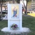 L'icona sacra di viale Pacecco torna al suo posto