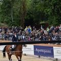 Una terlizzese allo storico concorso di equitazione di piazza di Siena (VIDEO)