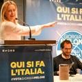 Giorgia Meloni a Bari: Marcello Gemmato fa gli onori di casa