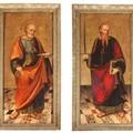 """Chiesa San Giocchinio: Attribuite al """"Maestro dell'Adorazione di Glasgow"""" le pale dei Ss. Pietro e Paolo"""