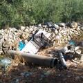 Rifiuti triturati tra la provinciale per Molfetta e via Chicoli: Legambiente chiede intervento (FOTO)