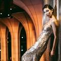 La top-model Roberta Molinini protagonista alla settimana della moda a Milano