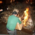 Questa sera falò e sagra delle pettole in piazza Cavour