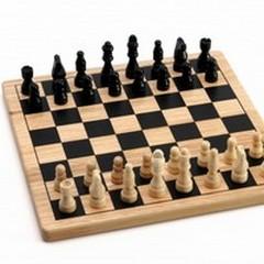 Scuola di scacchi in Biblioteca
