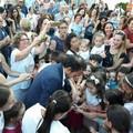 Il sindaco inaugura un'altra area giochi per bambini in via Sanremo - LE FOTO