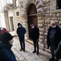 Tutto pronto per i lavori di ripavimentazione del Borgo Medievale