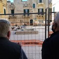 Riaprono i cantieri delle piazzette Savoia, Amedeo d'Aosta e Poerio