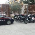 Nel garage il deposito delle moto rubate: arrestato meccanico 28enne
