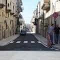 Terminati i lavori di rifacimento di strade e marciapiedi in via Nicola Quercia