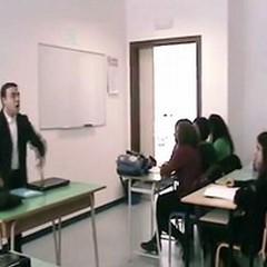 """Il video della classe IV A del Liceo Classico  """"C. Sylos """" protagonista al concorso G Salvemini"""