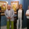 Stamattina i quadri del maestro Volpe allocati all'Immacolata Concezione