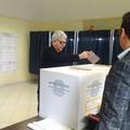 L'ex governatore Nichi Vendola a Terlizzi per votare - FOTO
