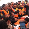 Gilet arancioni: 3 mila in piazza a Bari, presente anche la delegazione di Terlizzi