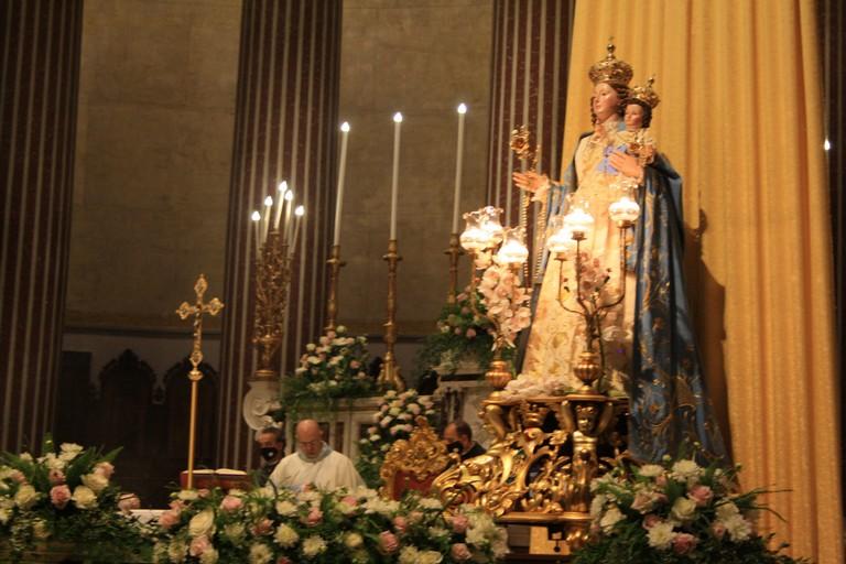 Celebrazione Santa Messa Madonna del Rosario JPG. <span>Foto Cosma Cacciapaglia</span>