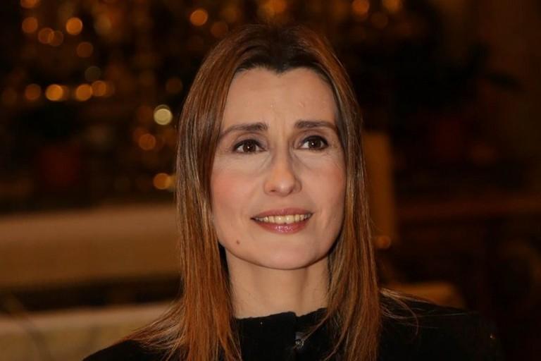Claudia Koll a Terlizzi per presentare il suo ultimo libro