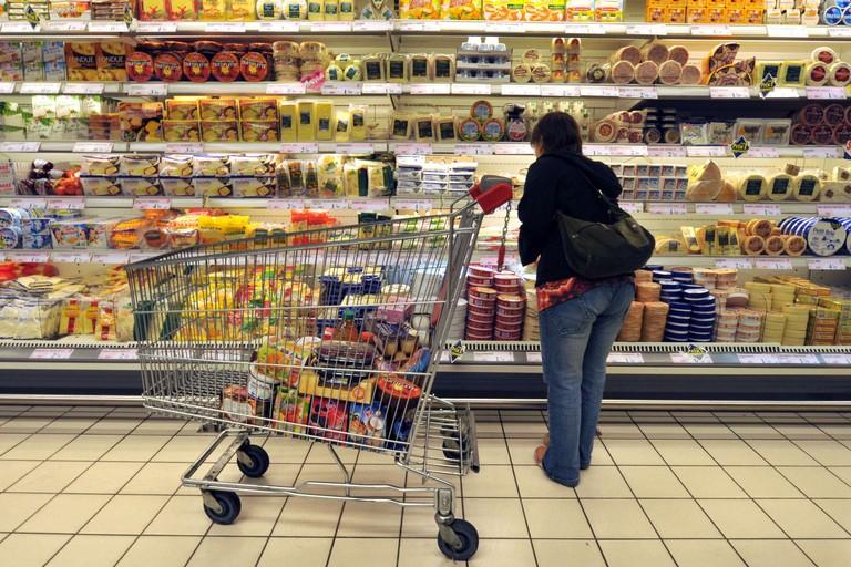 commercio supermercato