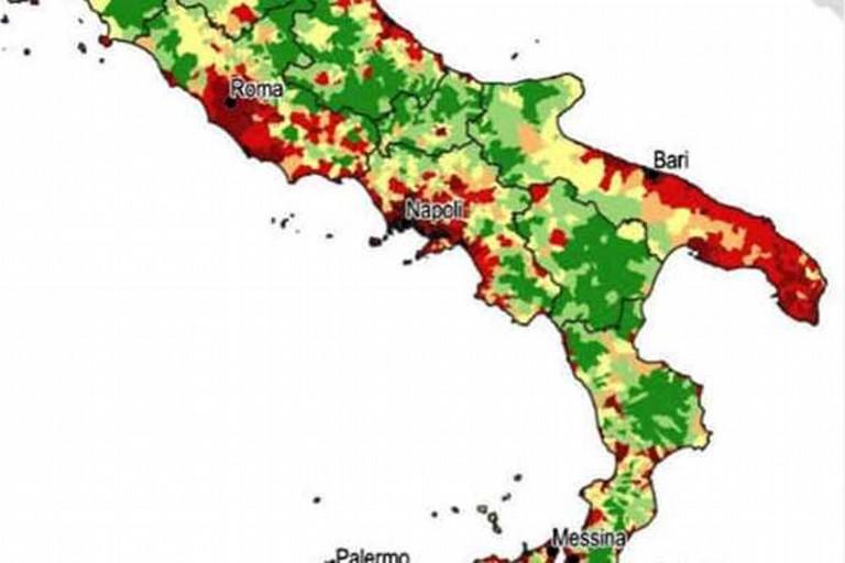 Consumo del suolo in Puglia