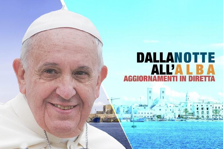 Dalla notte all'alba, tutto è pronto per accogliere Papa Francesco - DIRETTA
