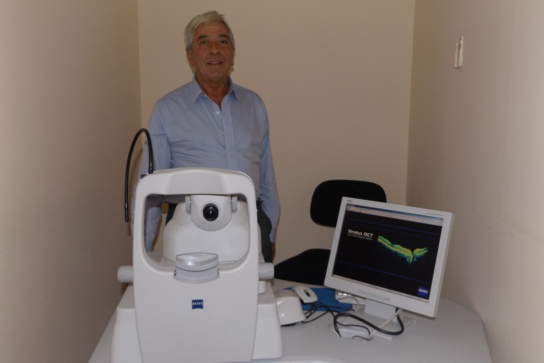 Oct, il raggio laser che scopre le malattie dell'occhio