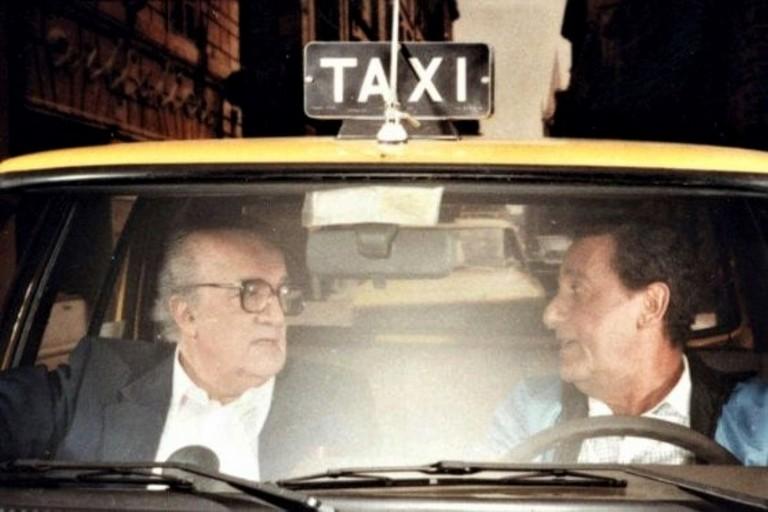 Federico Fellini ed Alberto Sordi