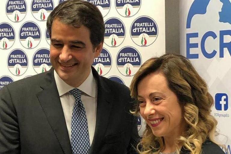 Giorgia Meloni e Raffaele Fitto