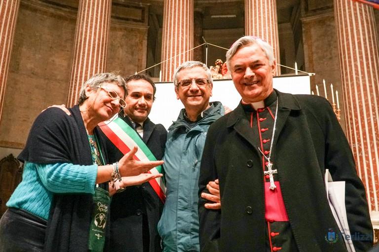 sindaco e vescovo
