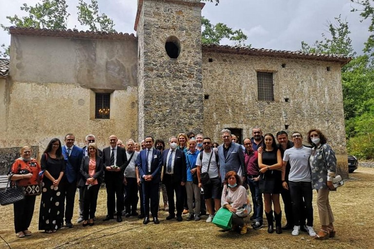 Foto di gruppo a Rivello