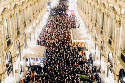 A Milano con la Segre