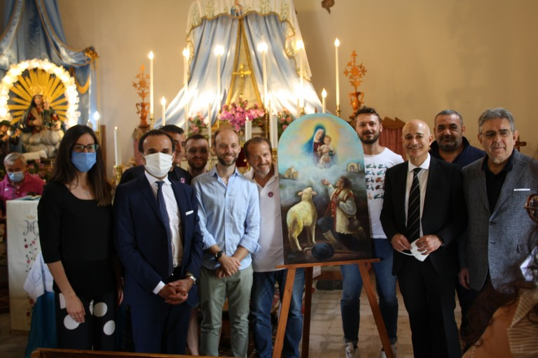 Gemellaggio Terlizzi Rivello Madonna di Sovereto JPG. <span>Foto Cosma Cacciapaglia</span>