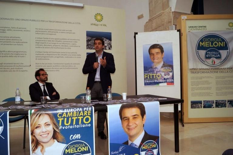 Marcello Gemmato con Raffaele Fitto