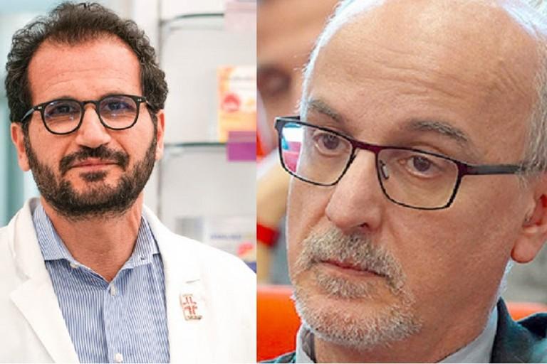 Marcello Gemmato e Pier Luigi Lopalco