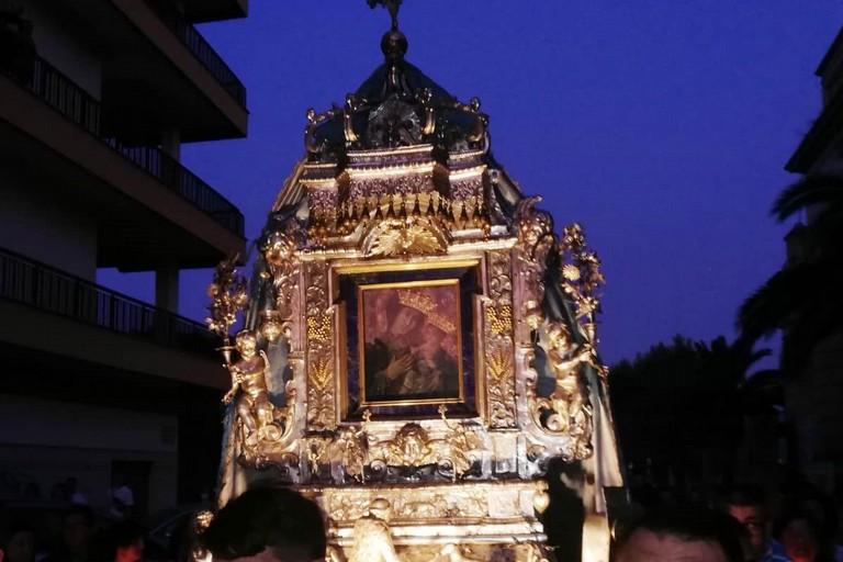 L'icona arriva a Terlizzi. <span>Foto Francesco Pittò</span>