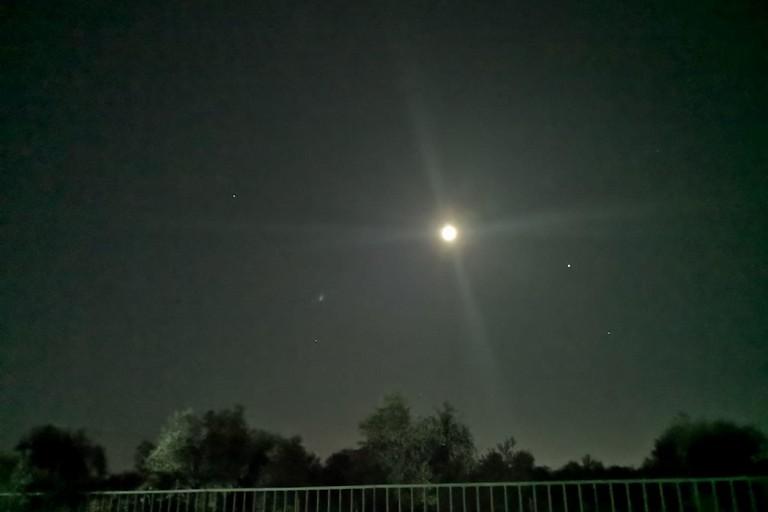 Le stelle osservate dal Dolmen di San Silvestro. <span>Foto Comune di Giovinazzo</span>