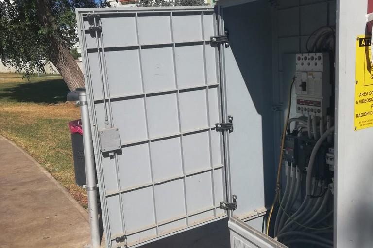 La cabina elettrica forzata