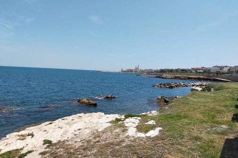 La costa giovinazzese. <span>Foto Gabriella Serrone</span>