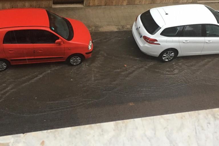 Via XX Settembre - pioggia