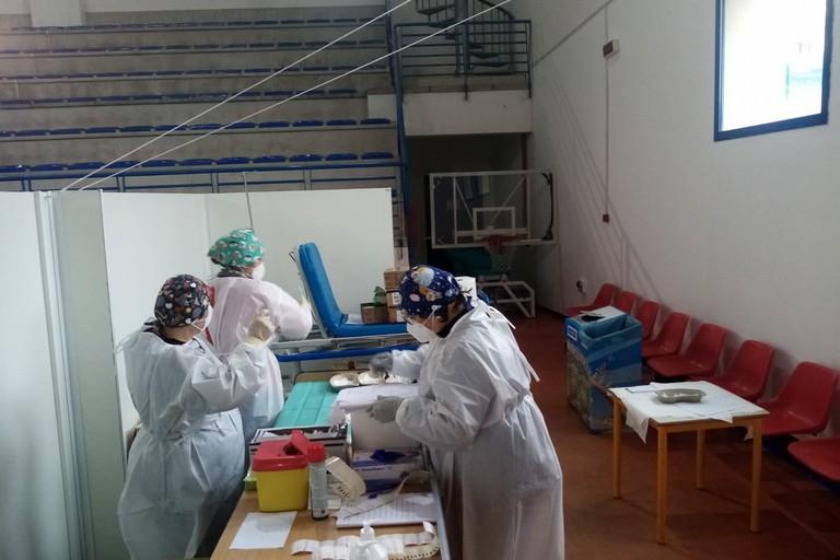 Operazioni vaccinali a Terlizzi. <span>Foto Cosma Cacciapaglia</span>