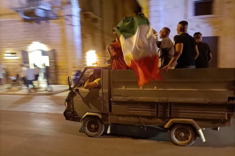 Festa per la nazionale a Terlizzi
