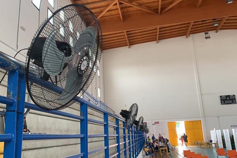 Ventilatori al PalaChicoli
