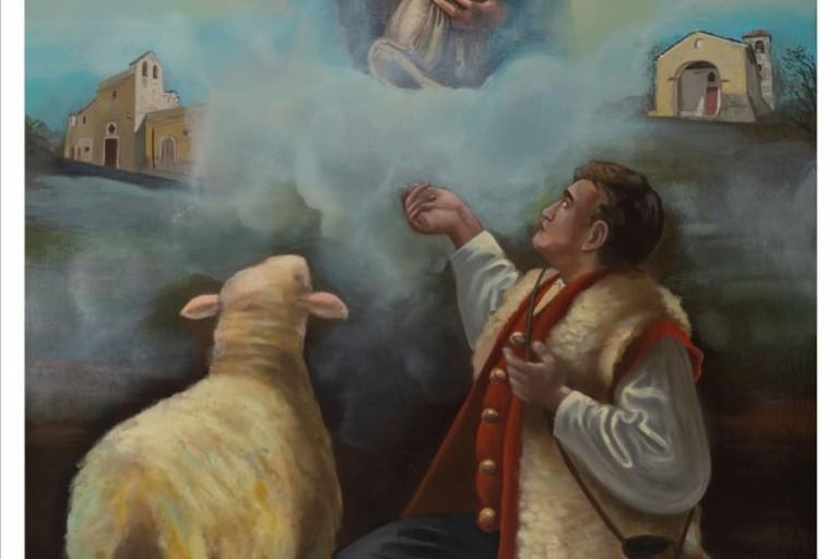 Il quadro di Giacomo Angarano