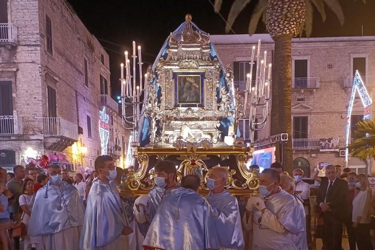 Rientro Maria SS di Sovereto. <span>Foto Francesco Pittò</span>