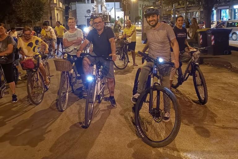 Vivila in bici 2021. <span>Foto Francesco Pittò</span>