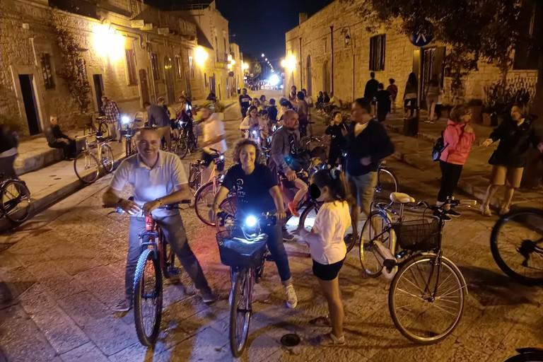 Vivila in bici a Sovereto