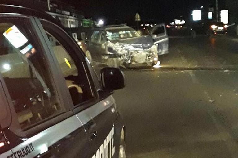 Violento incidente sulla sp 231
