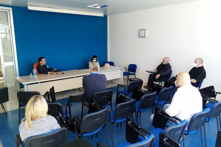Incontro Sindaco e Comitato Festa Maggiore. <span>Foto Cosma Cacciapaglia</span>