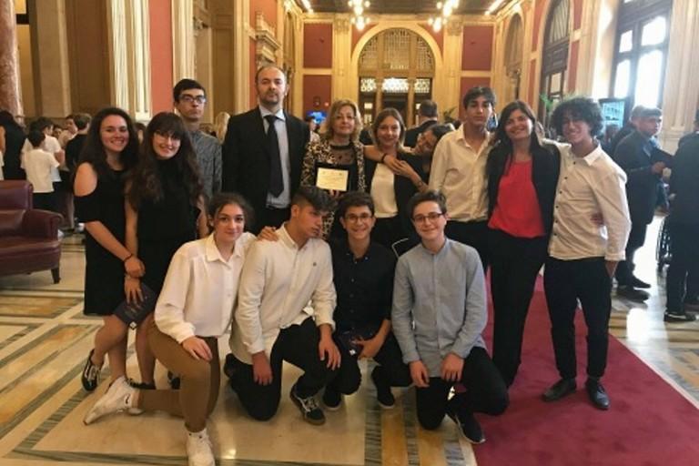 Terlizzi il liceo tedone premiato dal parlamento italiano for Ultime notizie dal parlamento italiano