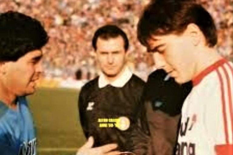 Maradona con Loseto