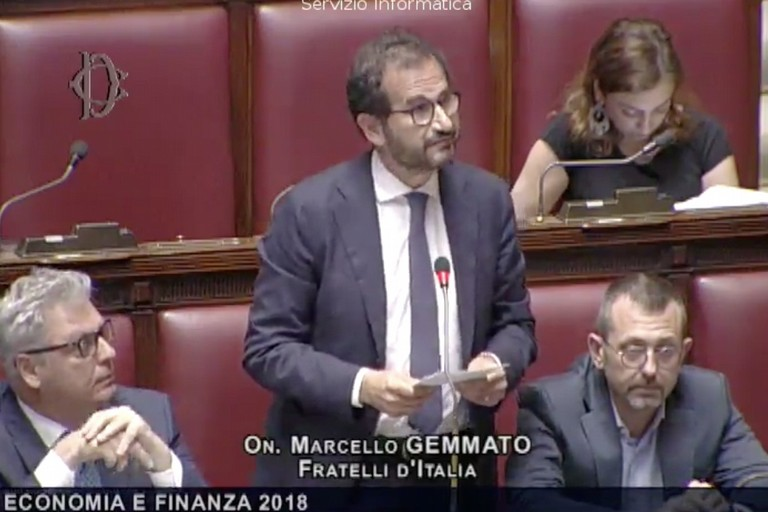 Marcello Gemmato alla Camera