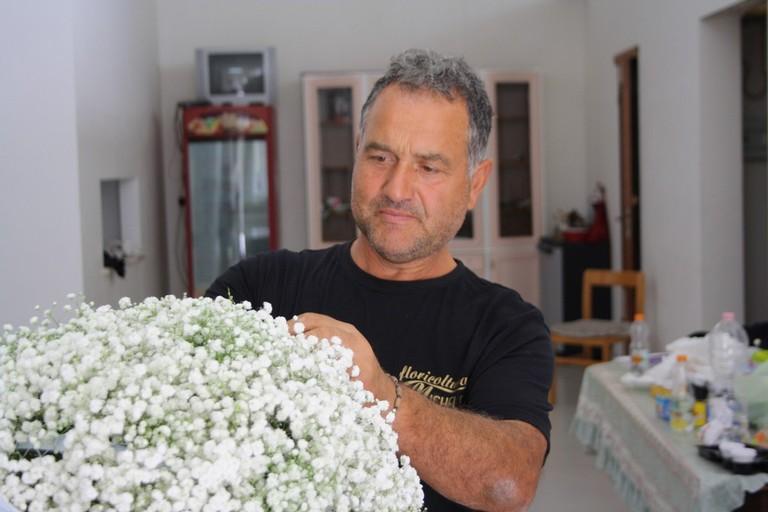 carro floreale mater lucis madonna del rosario