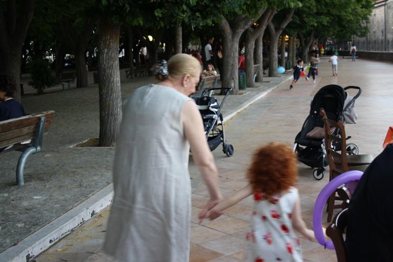 Nonna al Parco JPG. <span>Foto Cosma Cacciapaglia</span>